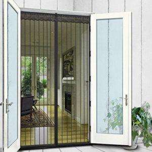 magnetic fly screen door for french doors